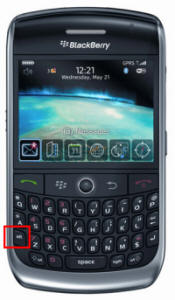 Blackberry Big Keys